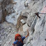 Klettern in den Alpen